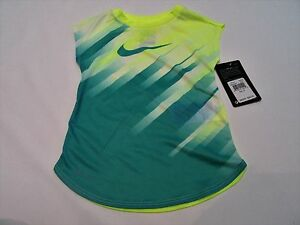 Nike baby girl clothes top t-shirt tee shirt size 3t 4t sport dri fit
