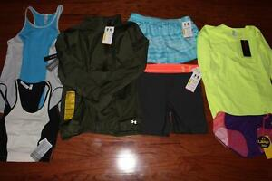 LOT OF 7 UNDER ARMOUR WOMENS JACKET SHORTS MID 5