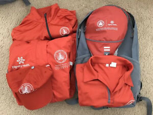 Super Bowl 50 Host Committee Volunteer- Backpack Jacket Polo ShirtCapDry Fit