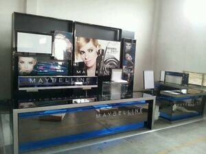 Display fixtures store display island retail store furnitures and showcase