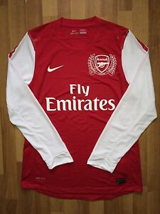 ARSENAL LONDON 2011 2012 125 YEARS NIKE HOME FOOTBALL SHIRT JERSEY DRI-FIT HENRY