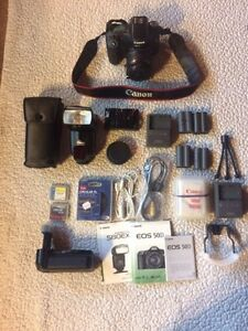 Canon EOS 50D with Canon EFS 18-55mm lens lots of other camera gear available!