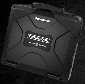 BLACK COBRA Panasonic Toughbook CF-30 • 480GB SSD • Touchscreen • GPS • 3 YEAR •