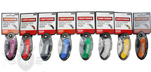 New Craftsman Folding Lock Back Utility Knife - Various Colors