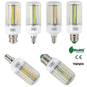 E27 E14 E12 B22 LED Corn Bulb 5730 SMD Light Corn Lamp Incandescent 20W 160W