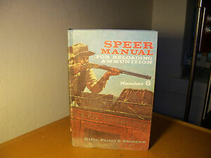Speer Manual for Reloading Ammunition book First Edition First Printing HB 1970