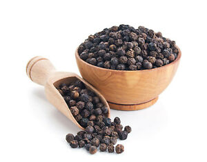 8 OZ GROWN ORGANICALLY Premium PURE BLACK PEPPER PEPPERCORNS BLACK WHOLE, INDIA