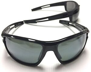 Under Armour Captain Polarized Sunglasses Glossy BlkChrome 100% UVAUVBUVC