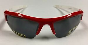 Under Armour Ignitor Pro Sport Sunglasses RedWhite 100% UVAUVBUVC Protection