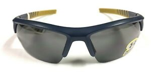 Under Armour Ignitor 2.0 Sunglasses Satin Navy Gold 100% UVA UVB UVC Protection $71.97