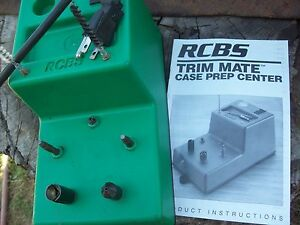 RCBS Trim Mate preowned with manual