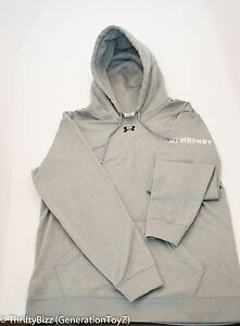 Under Armour Hoodie womens  small Golf Grey Gray sweat hood Under Armour Hat blk