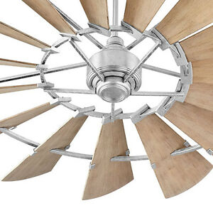 Hunter 72 Industrial Matte White Damp Rated Ceiling Fan: Indoor Ceiling Fans Online