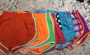 Women's Nike Dri Fit Tempo Running Shorts Lot Size S Small 5 Pair Gym