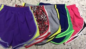 Women's Nike Dri Fit Tempo Running Shorts Lot Size XS EXTRA SMALL 5 Pair Gym