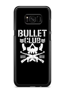 bullet club - Custom black iphone and samsung case