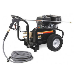 Mi-T-M Professional 3500 PSI (Gas-Cold Water) Pressure Washer w Belt-Drive