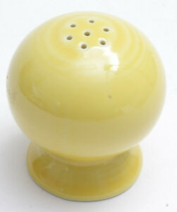 Fiesta Salt or Pepper Shaker 7-Hole - Yellow Sunflower - NEW Old Stock - E26
