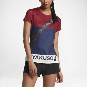 Women's Nikelab Gyakusou Dri-Fit Short Sleeve Running Top Size XS 865200 670 NWT