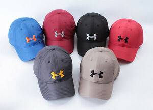 HOT! Under Armour Embroidery Logo Hats UA Outdoor Golf Tennis BaseballCap Unisex