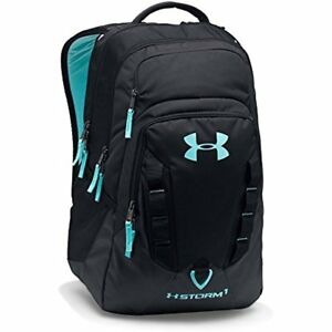 Sports & Fitness Features Under Armour Storm Recruit Backpack BlackBlack One