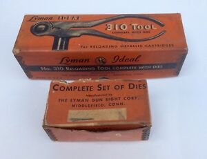 Lyman Ideal 310 Reloading Tool & Die Dies Box Marked .270 Winchester; NOS?