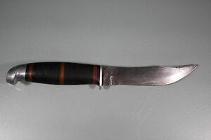 Vintage Western Boulder Fixed Blade Fighting Hunting Bowie Knife 514