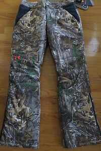 Under Armour Women's Siberian Pants Realtree Xtra ColdGear Infrared 1292559 sz 4