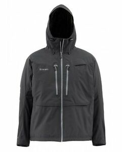 Simms Bulkley Jacket ~ Black NEW ~ Size XL ~ CLOSEOUT
