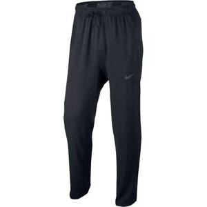 Nike 3927 Athletic Fitness Running Mens Dry Training Pants Sports Black Small
