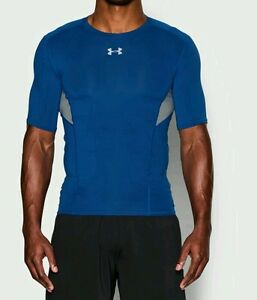 Under Armour Men's XL Tall CoolSwitch Compression Shirt Blue 1271334 NWT $35