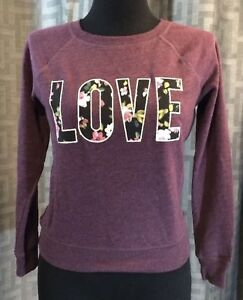 NWT Victoria's Secret Sweatshirt Size XS Retail price $79.50