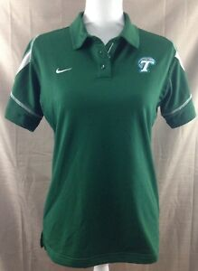 Tulane Green Wave Womens Polo Shirt Nike Fit Dry