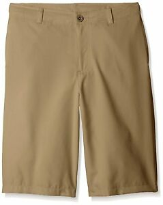 Under Armour Boys Medal Play Golf Shorts CanvasGraphite Youth Large