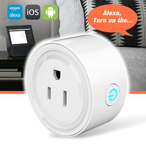 eSamcore Mini WiFi Smart Remote Control Timer Switch Power Socket Outlet US Plug