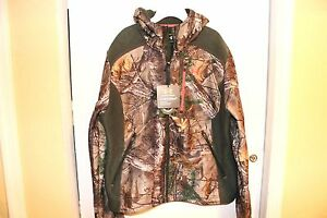 NWT UNDER ARMOUR WOMEN'S HUNTING STORM FULL ZIP HOODIE REALTREE CAMO XL $150