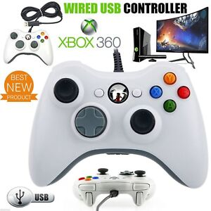 LOT 1-50   Microsoft -Game Wireless Wired Controller for Xbox 360 Wholesale! E1