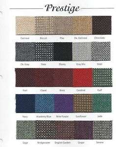 Prestige Tweed Upholstery Fabric for Automotive Church Other Free Shipping