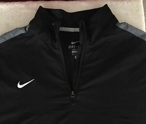 Nike Dry Fit Extra-Large Collared Shirt With Pocket  Drawstring and zip tuck