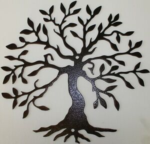 Tree of Life 2 Metal Wall Art Home Decor Copper Vein $18.50