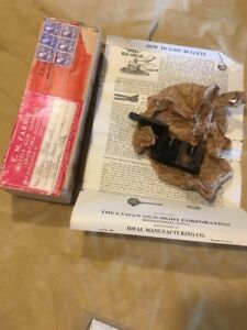 Rare Vintage Ideal co. bullet  mold 518145 In Original Box With Paperwork