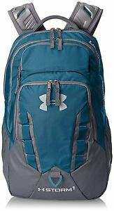 Under Armour Storm Camping Backpack School Sports Active Boys Girls Blue Bag New