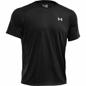 NEW Sport T-Shirt Under Armour Mens Gym Sportstyle Short Sleeve Black Large