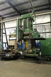 (17687) O-M MODEL TMS 2040 OPEN SIDE VERTICAL BORING MILL