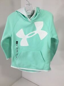 Under Armour Girls Pullover Storm 1 Hoodie NWT Size XS $44.99 Color Mint