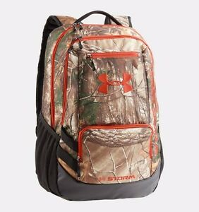 Under Armour® Hustle Camo Backpack