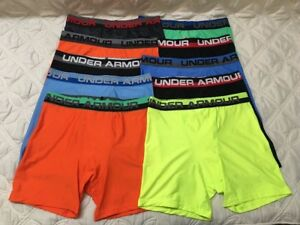 Under Armour Boys Heatgear Boxerjock Briefs. Lot of 10.Size- Youth X Large. #5