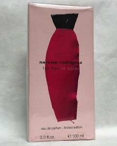 Lot of 3: Narciso Rodriguez For Her In Color Eau de Parfum Limited Edition 3.3oz