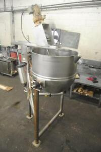 Lee model 125-CHD7 125 Gallon Stainless Steel Tilting Cooking & MIxing - 77810