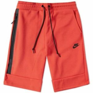Nike Tech Fleece Men's Shorts - Size Medium Med M Light Crimson 628984 697